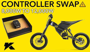 How to Remove and Swap the Controller on a Kuberg Freerider