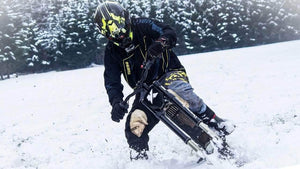 Kuberg Freerider in the Snow!