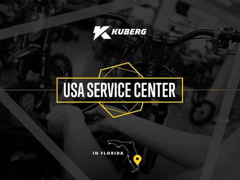 Kuberg USA Service and Warranty