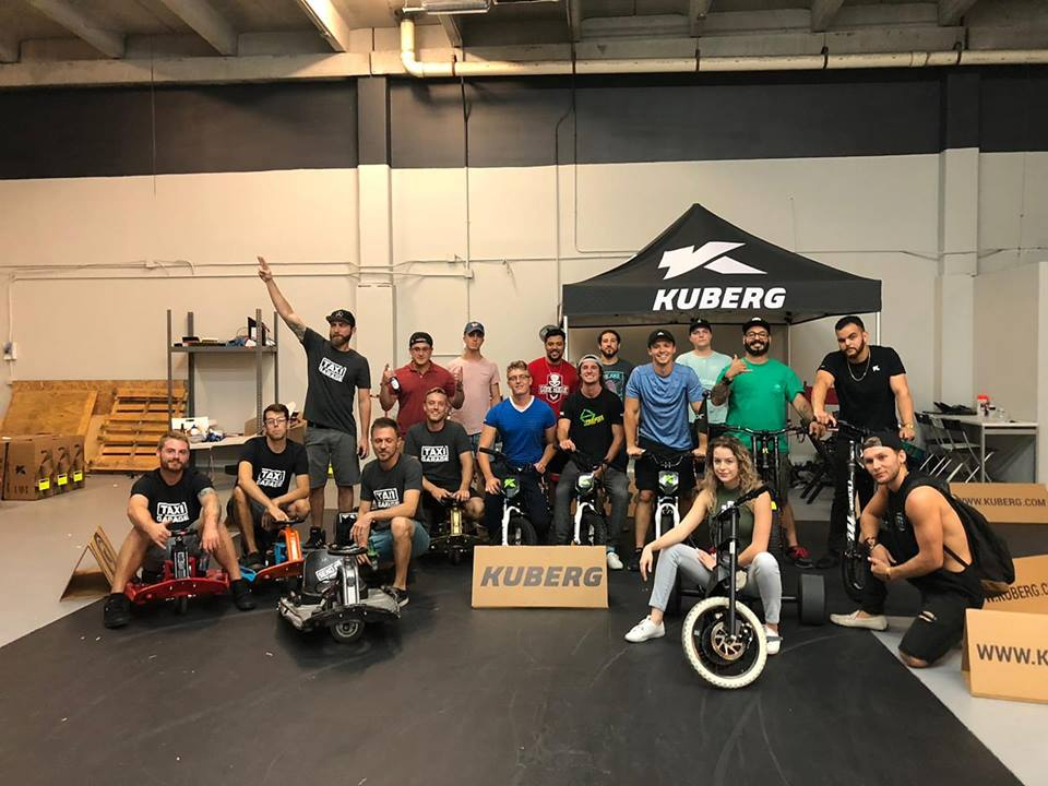 Kuberg Florida and Taxi Garage Electric Meet Up