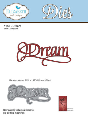 A Way With Words, Dream - ElizabethCraftDesigns.com