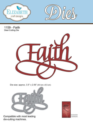 A Way With Words, Faith - ElizabethCraftDesigns.com