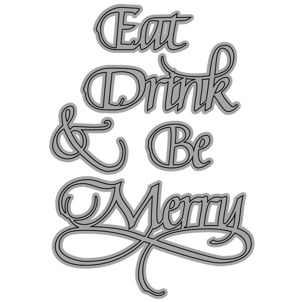 A Way With Words, Eat, Drink & Be Merry
