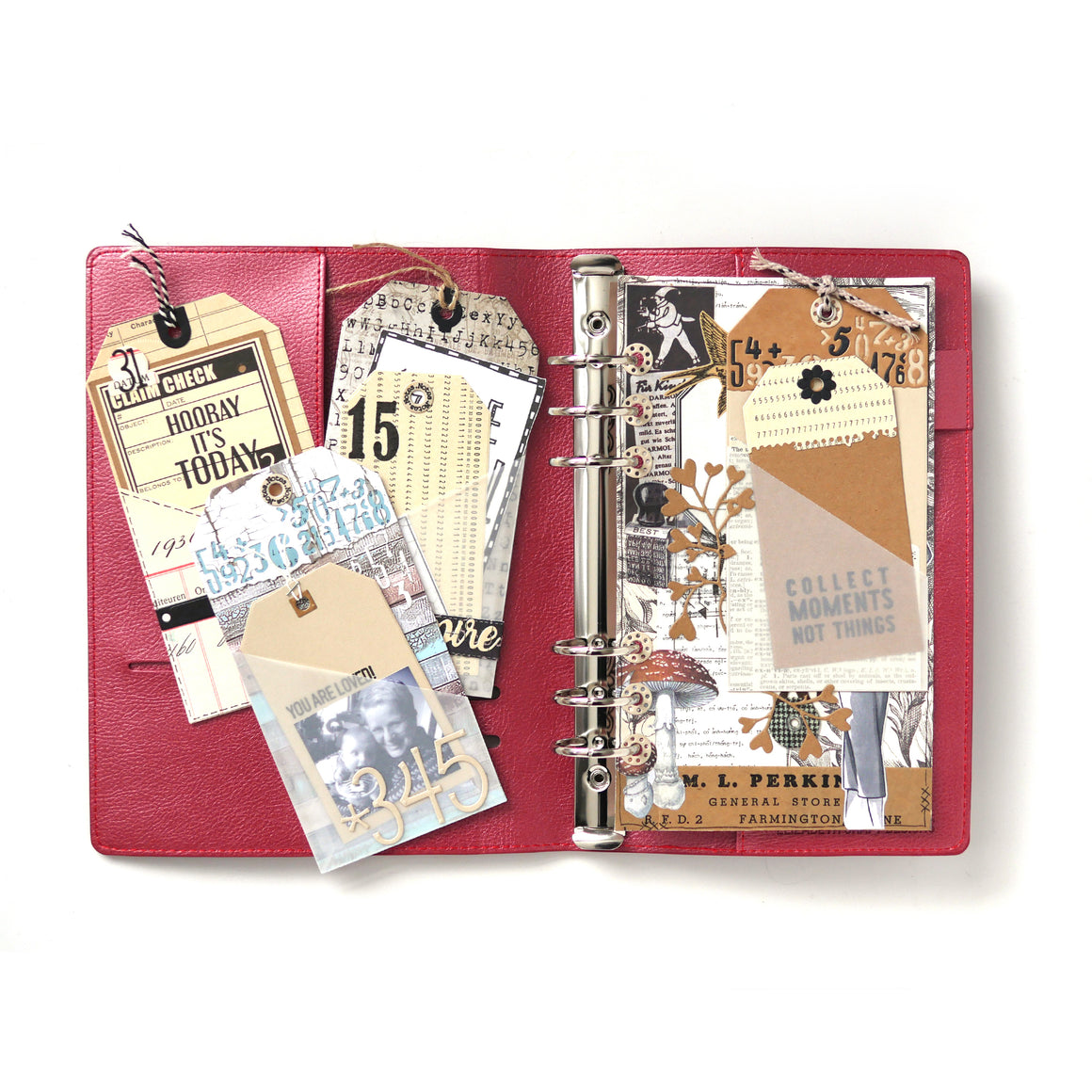 Planner Essentials 26 - Planner Pocket 3 - Tag & Toppers