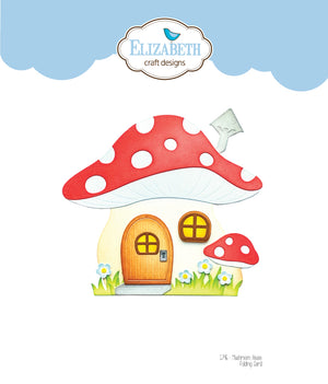 Mushroom House Folding Card