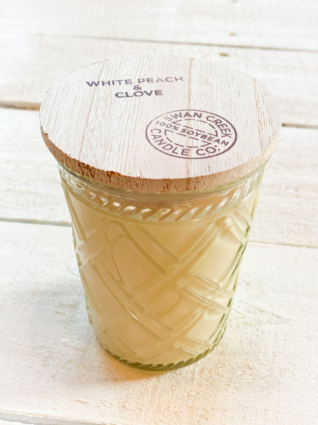 Swan Creek Candle Co. - White Peach and Clove