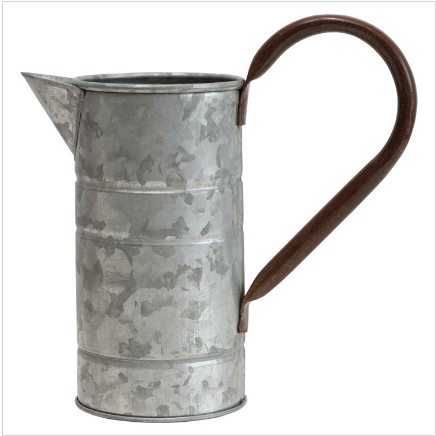 Decorative Metal Jug Pitcher
