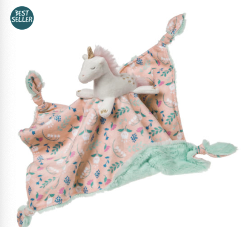 Putty Nursery Unicorn Character Blanket