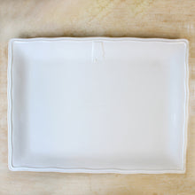 White Alabama Platter