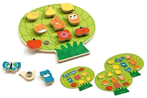 Clipaclip Wooden Activity Toy