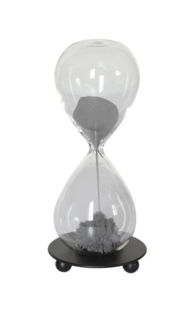 Glass Magnetic Hourglass