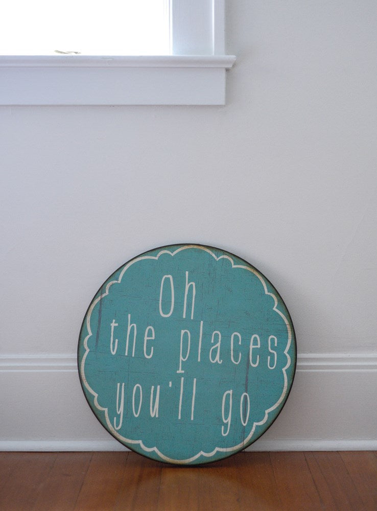 Oh the Places You'll Go Wall Decor