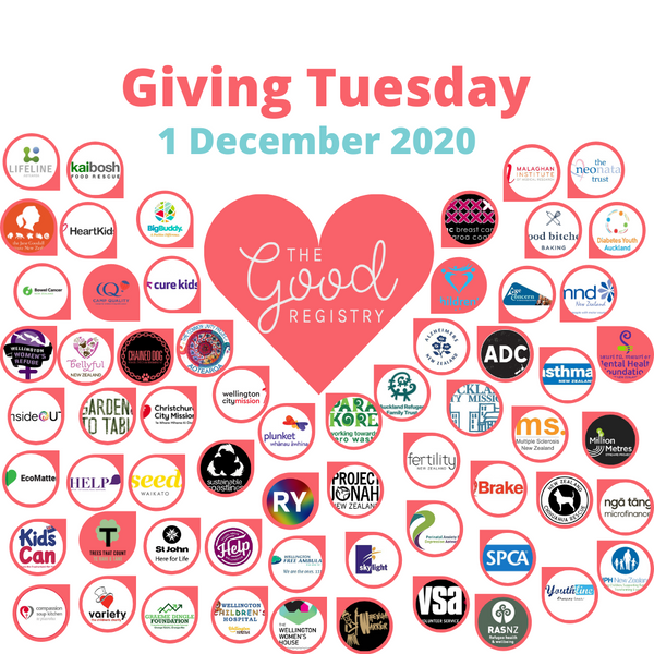 We're celebrating kindness on #GivingTuesday