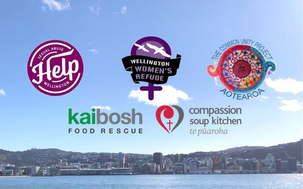 Five Wellington charities spreading kindness in our communities