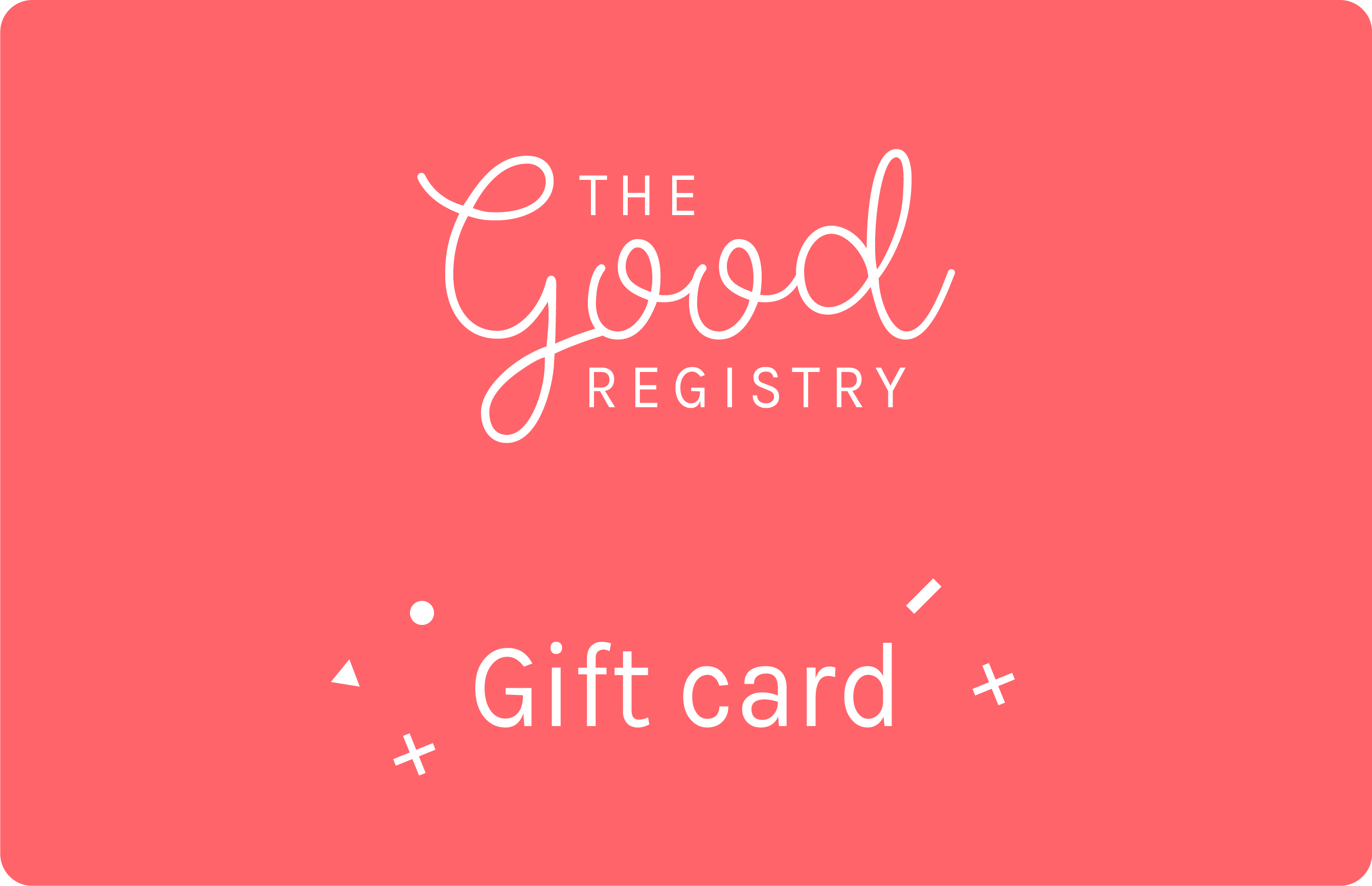 Give the gift of giving with Good Gift Cards