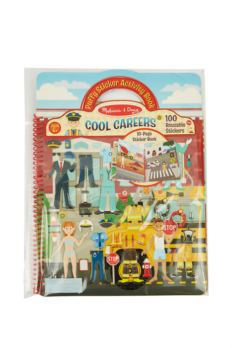 Cool Careers - puffy sticker activity book