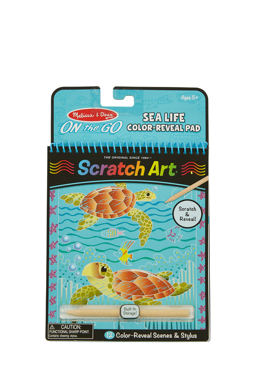 On The Go Sea Life Color-Reveal Pad