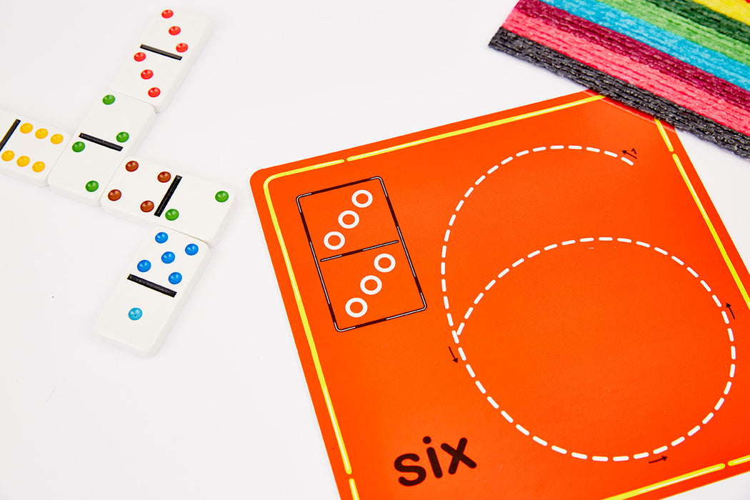 Wikki Stix Numbers & Counting Fun Cards For Learning