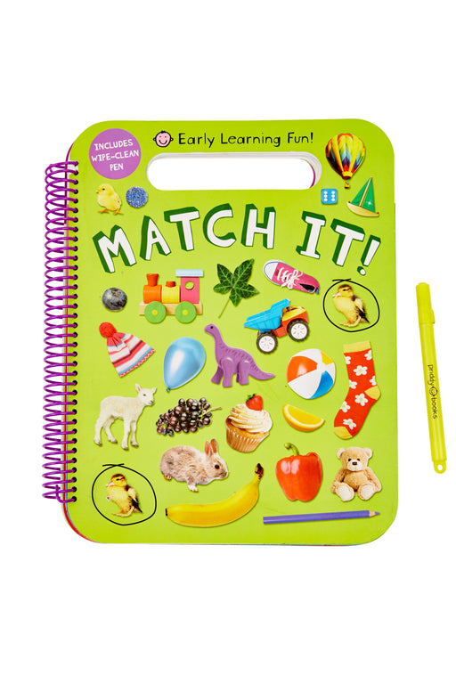 Match It! - wipe clean activity book