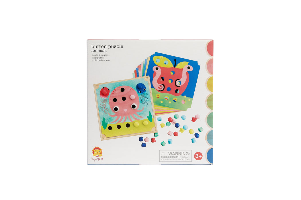 Button Puzzle Animals