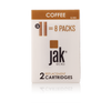 jakecig e cigarette cartridges rechargeables coffee flavor 16 mg
