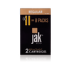 jakecig e cigarette cartridges rechargeables tobacco flavor 16 mg