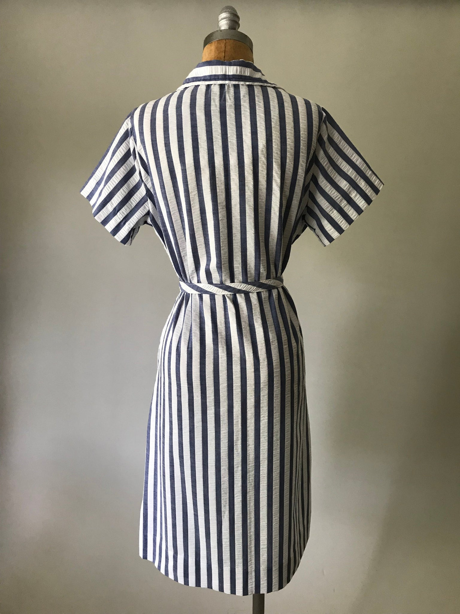 Blue Stripe Dress