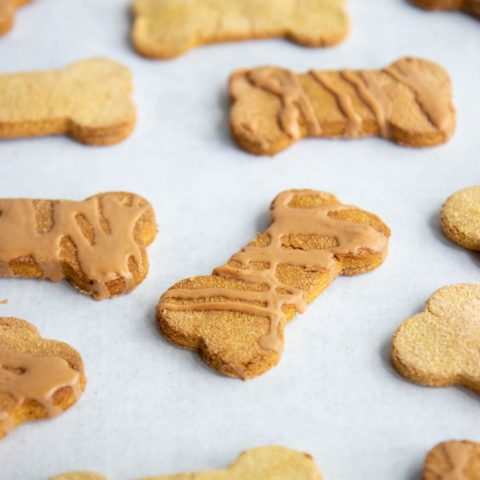 Dog biscuits holiday baking that are perfect for the treat dispensers