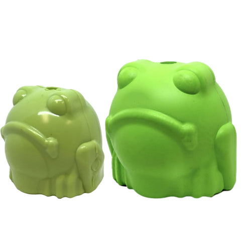 SodaPup Bull Frog Natural Rubber Chew Toy