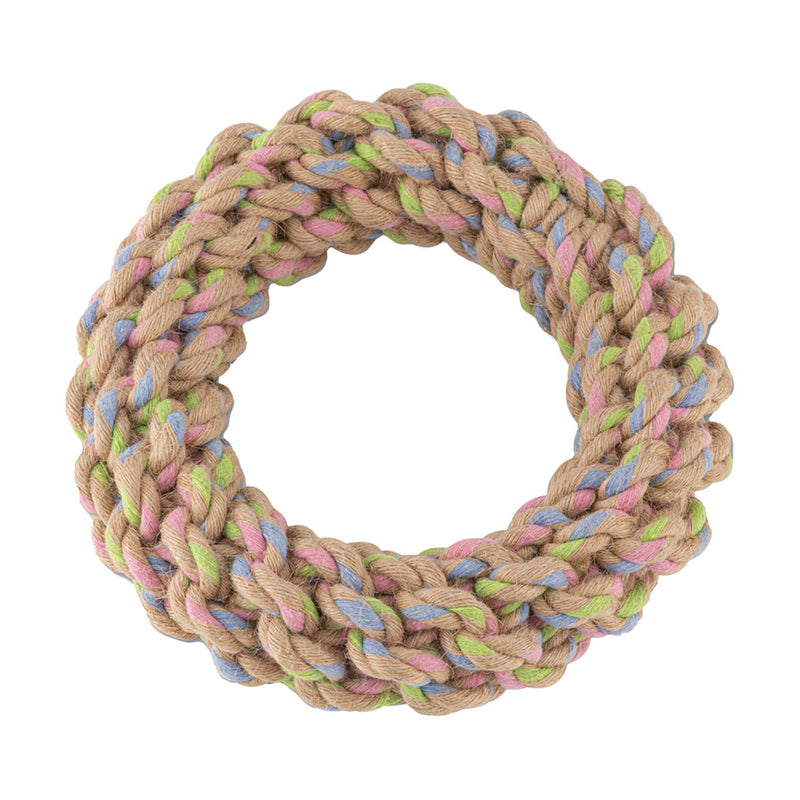 Chopper & Otis Beco Pets Hemp Rope Jungle Ring
