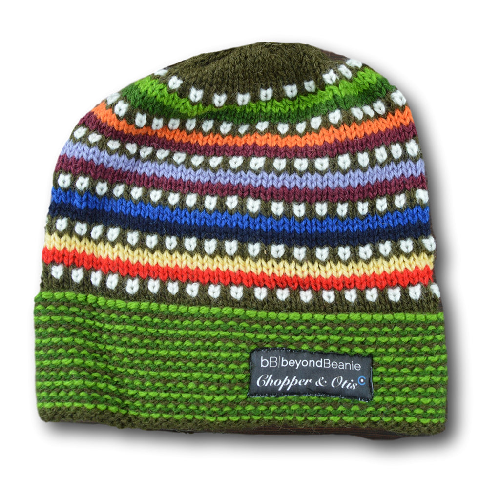 Chopper & Otis | Beyond Beanie - Green