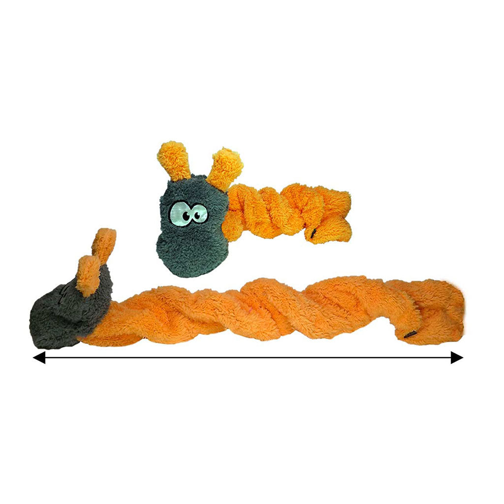 Chopper & Otis: Cycle Dog Duraplush Coil Caterpillar