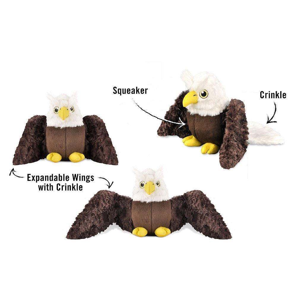 Pet Play Fetching Flock Edger the Eagle
