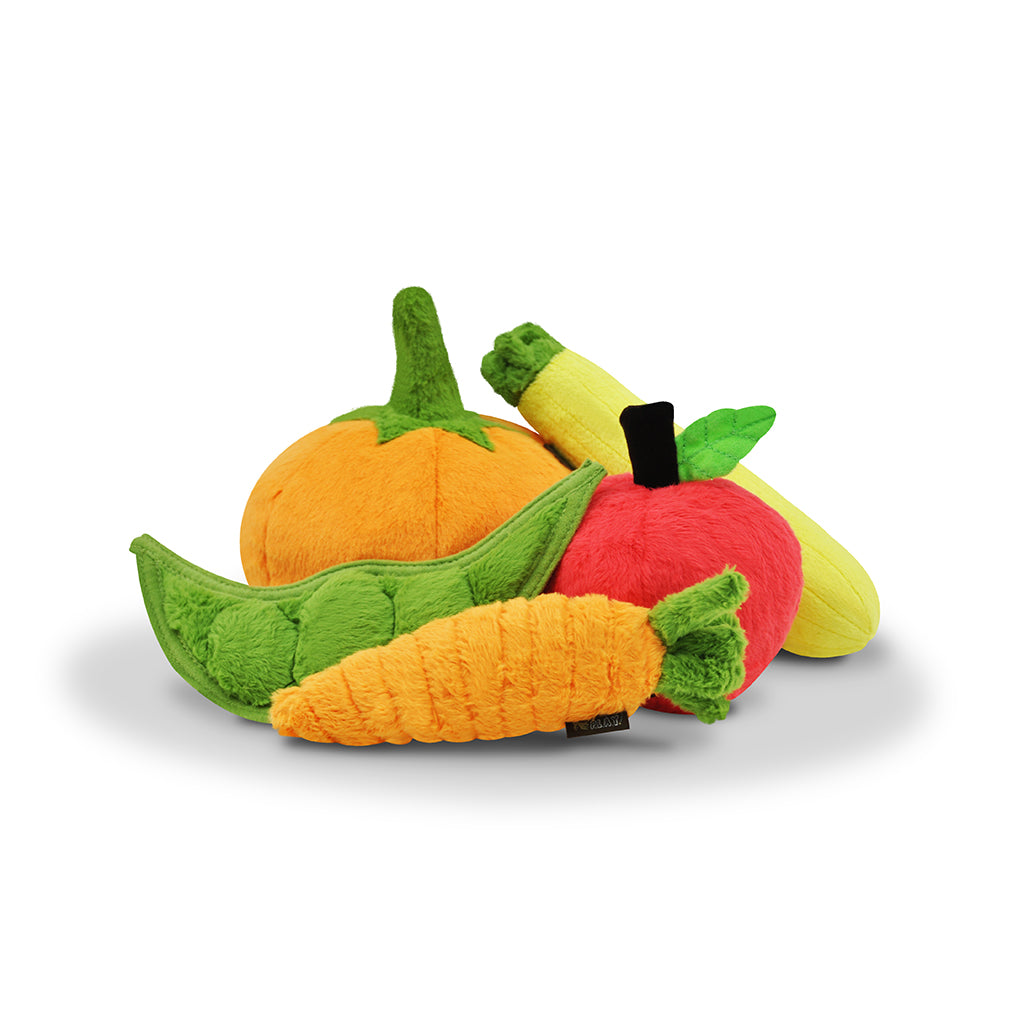 Garden Fresh Vegetable Plush Toys