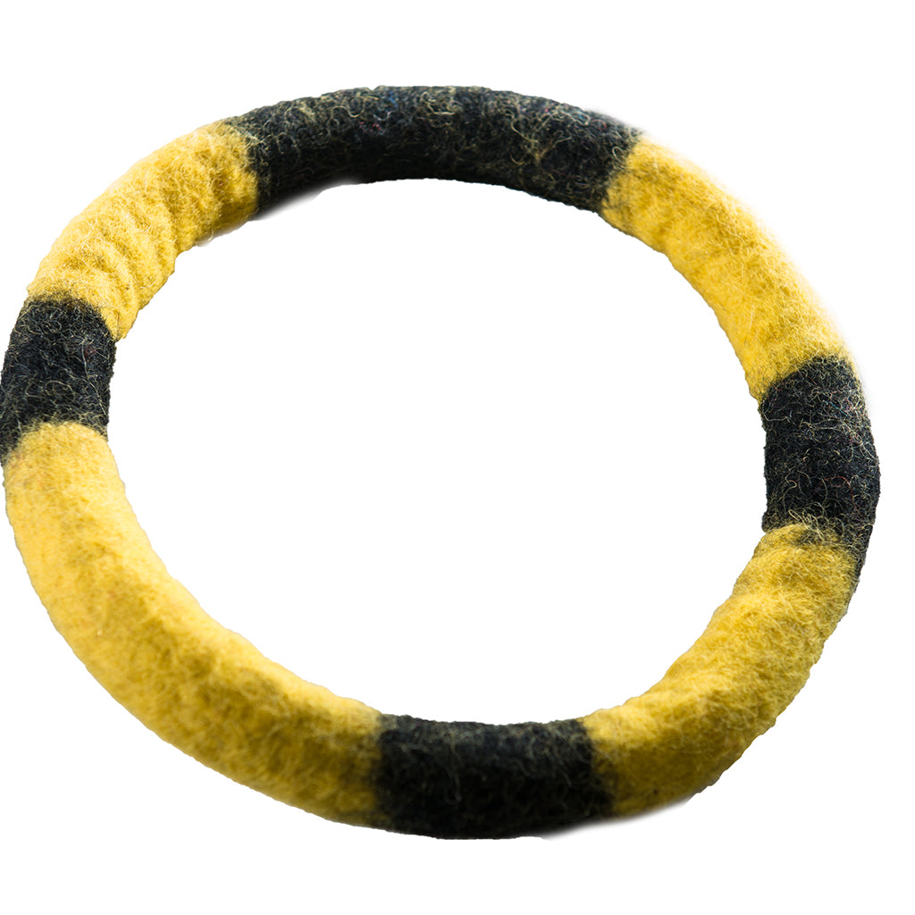 Chopper & Otis | Le Sharma | Eco Ring | Black & Yellow