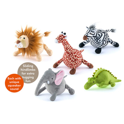 Safari Plush Toys