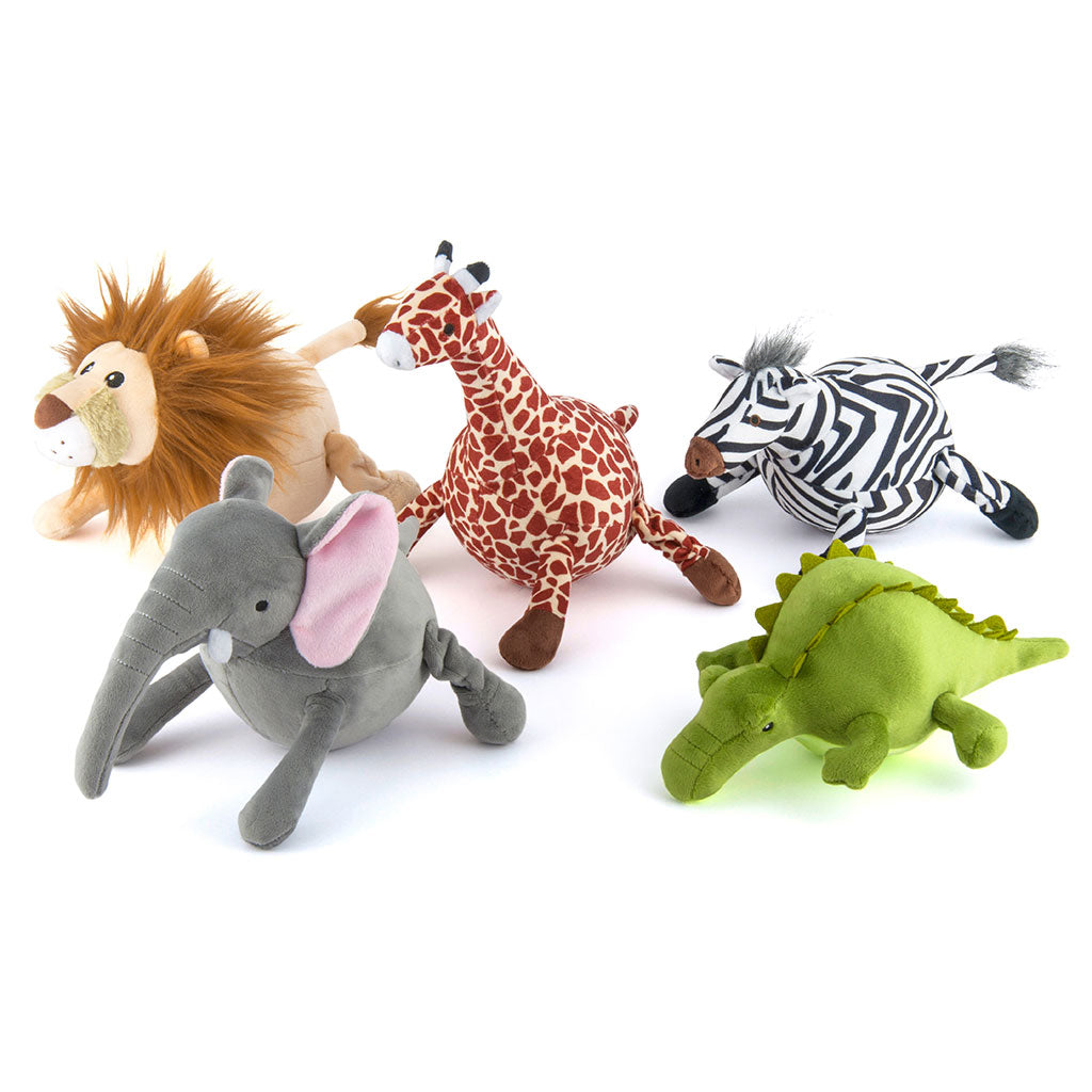 Chopper & Otis: P.L.A.Y Pet Lifestyle Safari Toy Set: Zebra