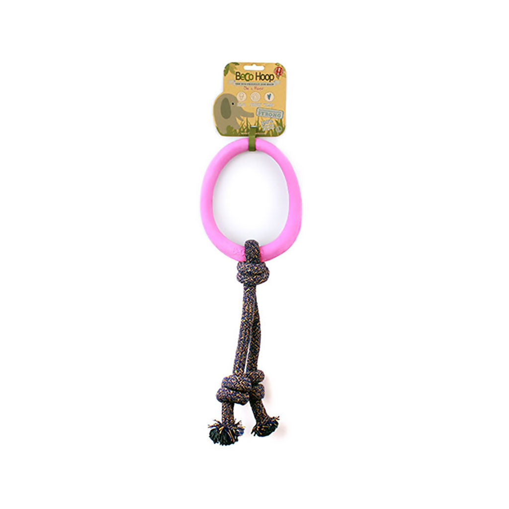Chopper & Otis | Beco Hoop On Rope | Pink