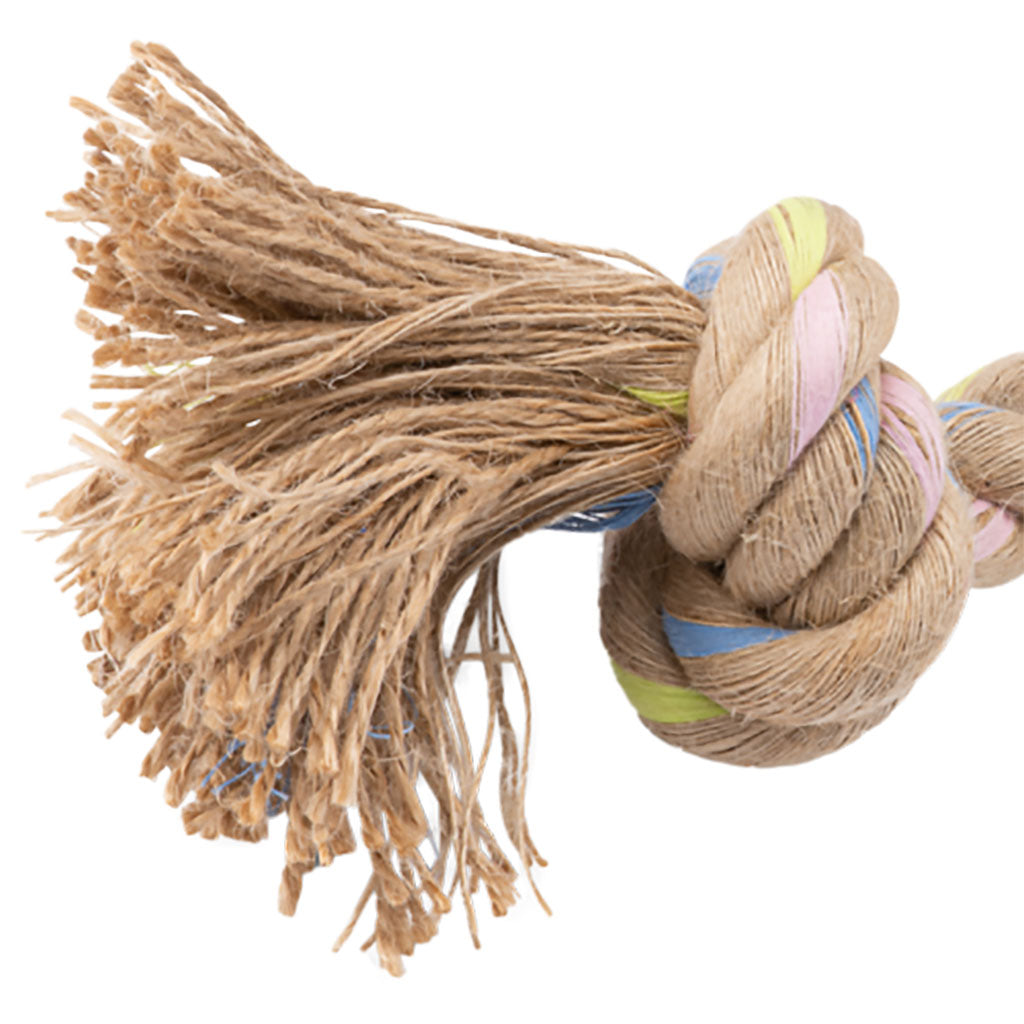 Chopper & Otis: BecoPets Hemp Rope Double Knots