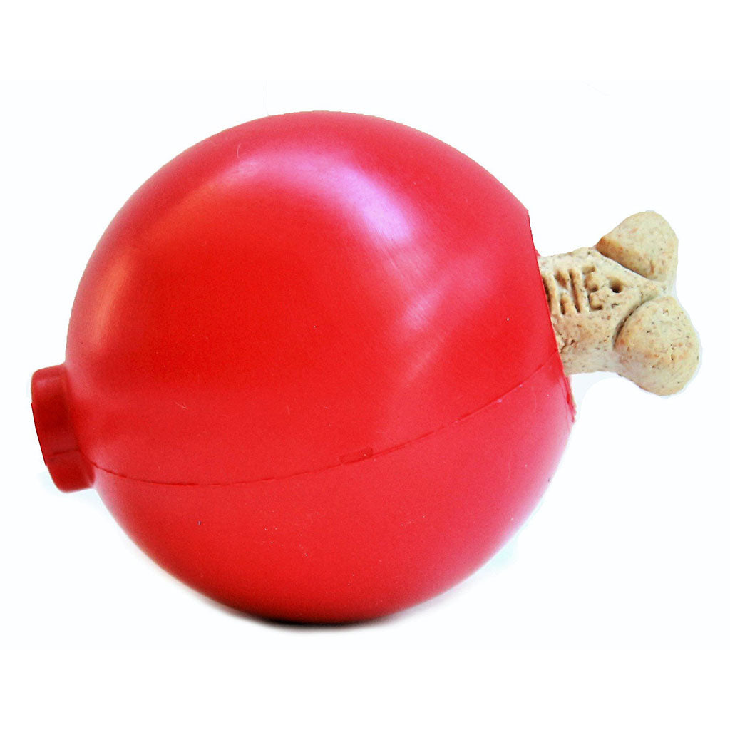 Holiday Ornament Chew & Treat Dispenser