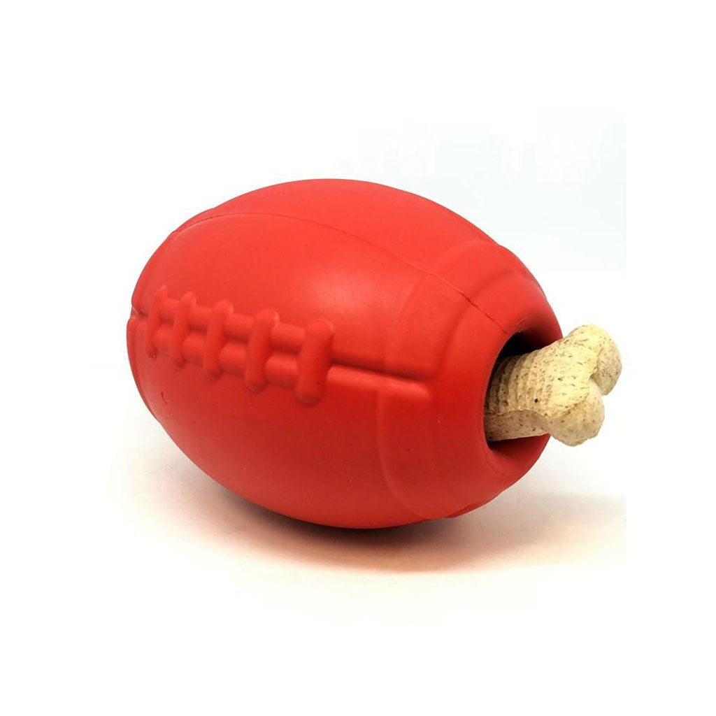 Chopper & Otis: SodaPup Football Chew Toy & Treat Dispenser