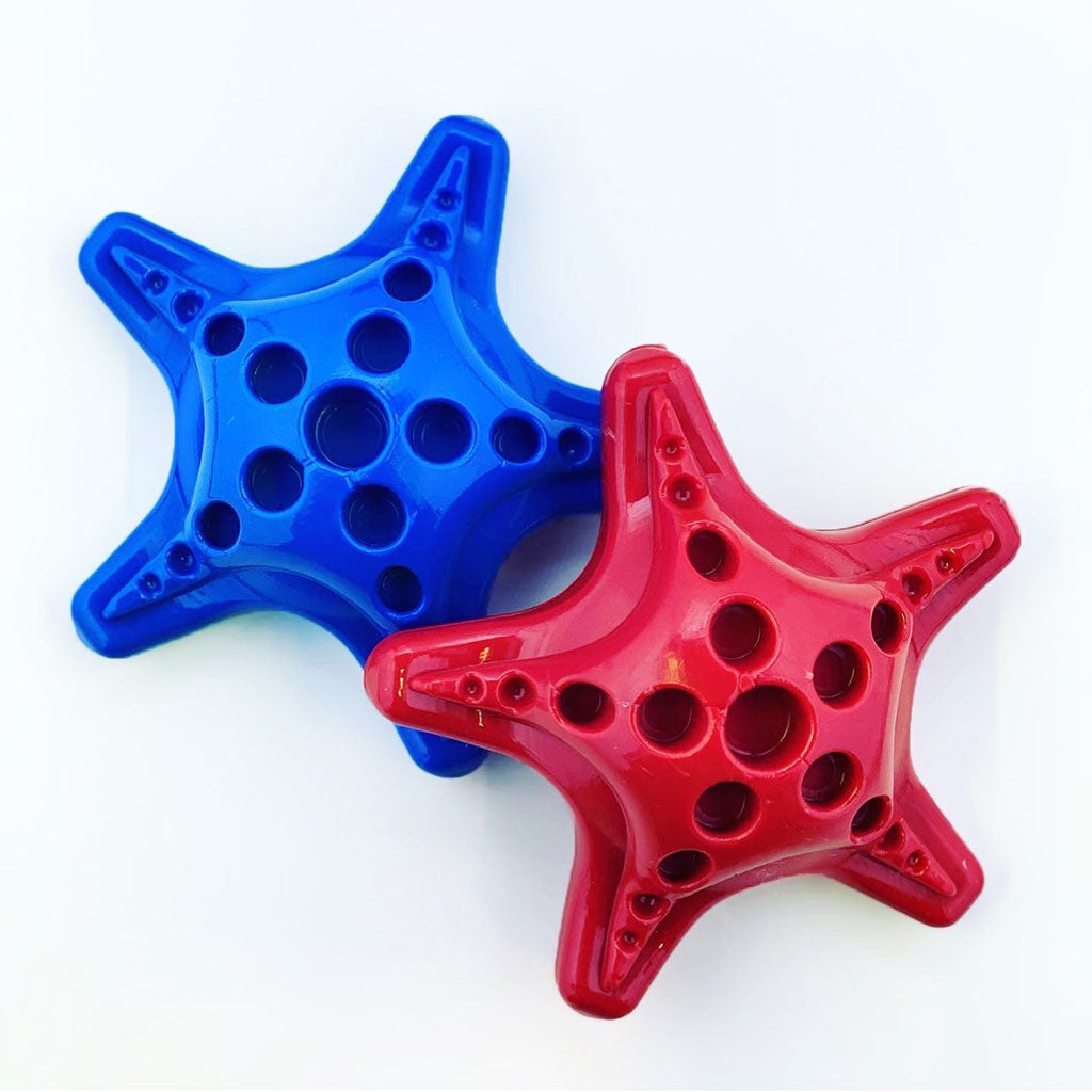 Chopper & Otis: SodaPup: Starfish Nylon Chew and Treat Toy