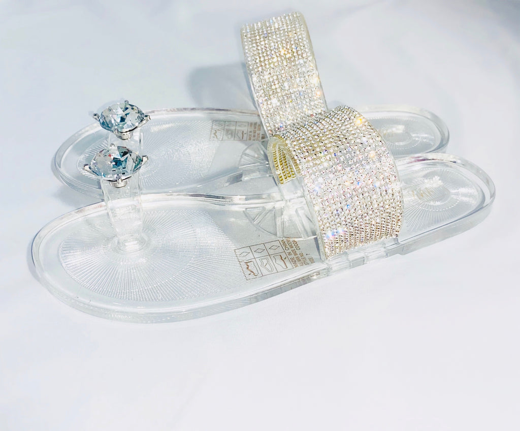 Icy Sandal (Silver)
