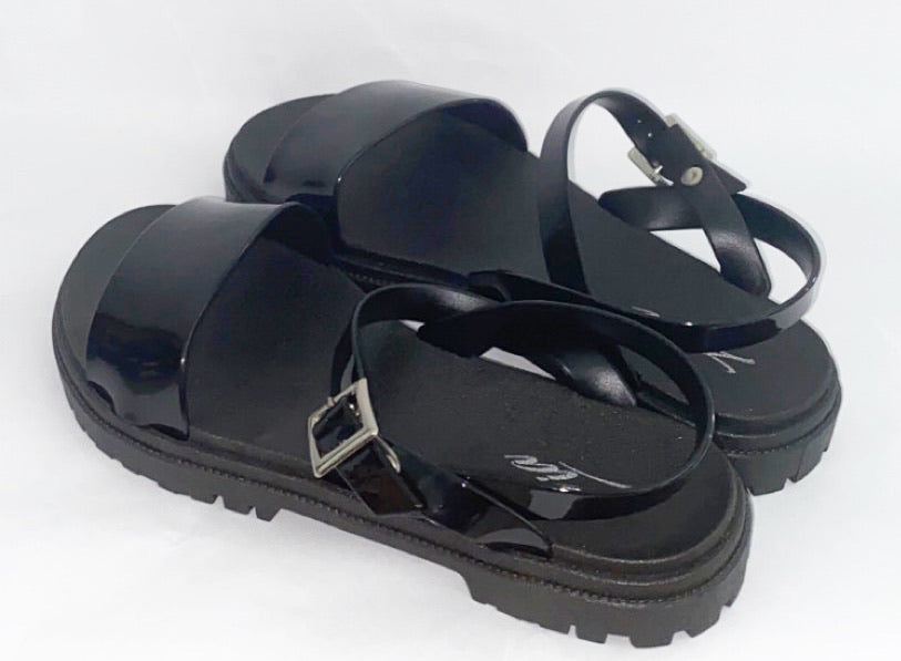 Paris Sandal(Black)
