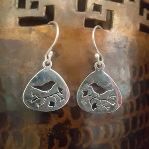 Sterling Silver Earrings - Cara
