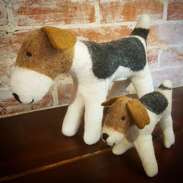 Pure Wool Felt Dog