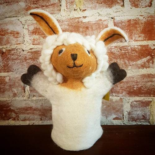 Felt Hand Puppet - Sheep