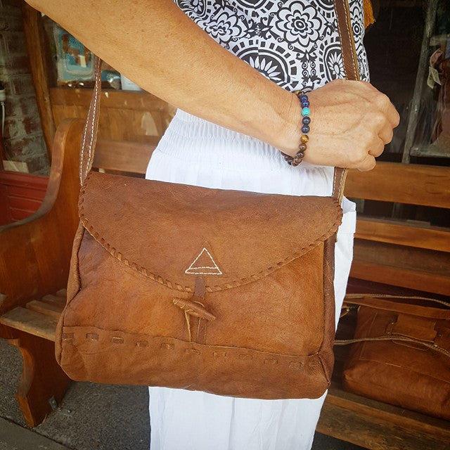Organic Leather Bag - Sita