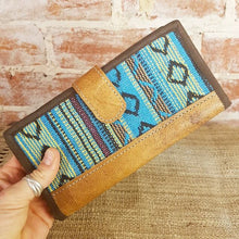 Leather & Weave Wallet - Nilo