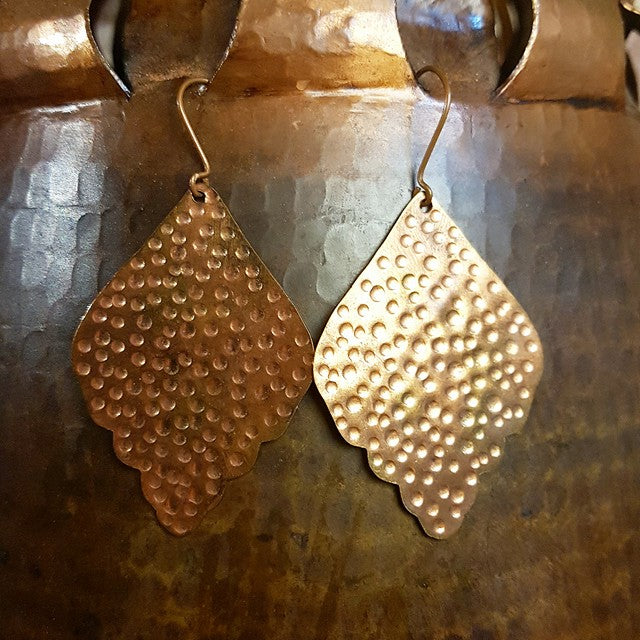 Copper Earrings - Anandi